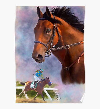 American Pharoah, Triple Crown Winner Poster