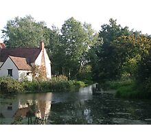 The Hay Wain minus horse and cart Photographic Print