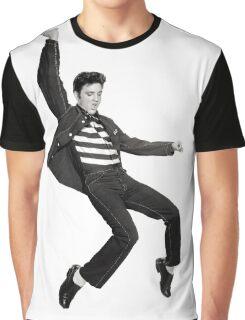 Elvis Falling Graphic T-Shirt