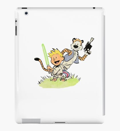 Calvin and Hobbes Star Wars iPad Case/Skin