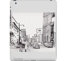 1947 Street Scene by Kevin Dellinger iPad Case/Skin
