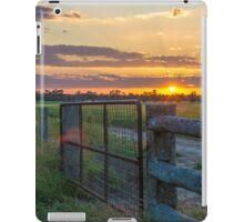 Rural Sunset iPad Case/Skin