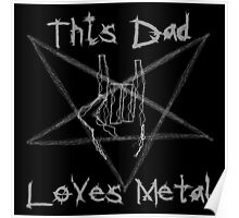 Heavy Metal Dad Poster