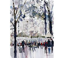 Bryant Park, New York City Photographic Print