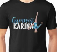 Gymnast Karina - Personalised Unisex T-Shirt