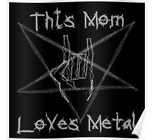 Heavy Metal Mom Poster