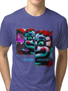 SISTER LOCATION (FNAF) Baby wants to play 2 Tri-blend T-Shirt