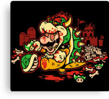 MARIO MADNESS BOWSER Canvas Print