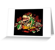 MARIO MADNESS BOWSER Greeting Card