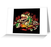 MARIO MADNESS BOWSER Greeting Card
