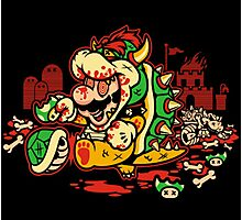 MARIO MADNESS BOWSER Photographic Print