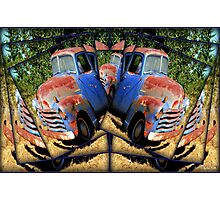 Abstract chevy Photographic Print