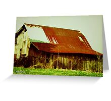 """The Hard Years""... prints and products Greeting Card"