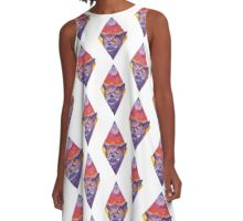 Night Owl A-Line Dress