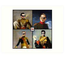 Depeche Mode : 101's TShirt with classic paint Art Print
