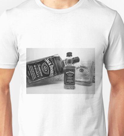 Jack Daniels On The Table Unisex T-Shirt