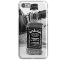 Jack Daniels On The Table iPhone Case/Skin