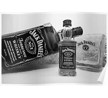 Jack Daniels On The Table Poster