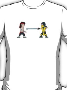 'Get Over Here!'  Fatal Kombat - (Wee-Guys) T-Shirt