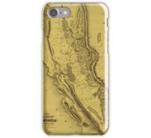 California Gold Region 1851 iPhone Case/Skin