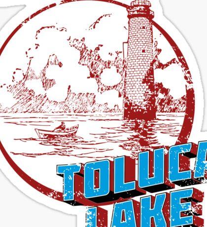 Toluca Lake Sticker
