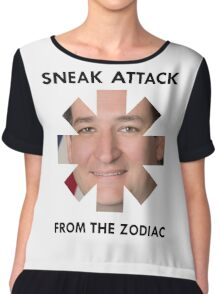 RHCP - Sneak Attack from Ted Cruz Chiffon Top