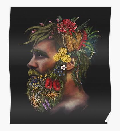 One With Nature | Australian Natives Poster