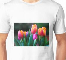 Colorful tulips Unisex T-Shirt