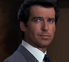 Pierce Brosnan - James Bond 007 by verypeculiar