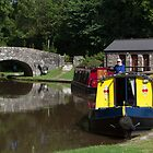 Tranquil Canal by Graeme  Hunt