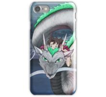 Spirited Away - Sen and Haku iPhone Case/Skin