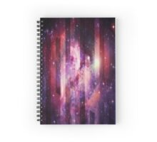 Galaxy Outer Space Surreal Stripes Nebula Spiral Notebook