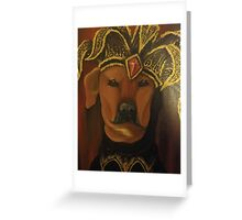 Tugsy The Court Jester Greeting Card