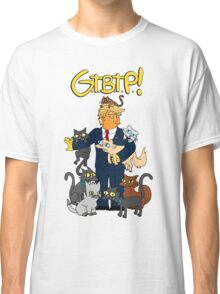 DonaldTrump / Simpsons Mashup . Grab Them By The Pussy Classic T-Shirt
