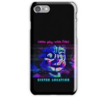 SISTER LOCATION (FNAF) come play with Baby iPhone Case/Skin