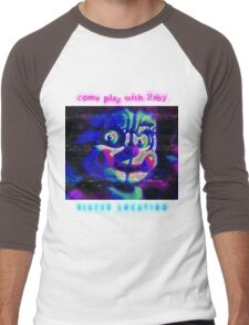 SISTER LOCATION (FNAF) come play with Baby Men's Baseball ¾ T-Shirt