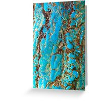 Turquoise & Howlite Greeting Card