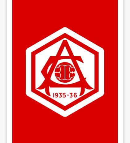 Arsenal 1935-36 Red Sticker