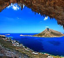 Grande Grotta, climbing paradise - Kalymnos island by Hercules Milas
