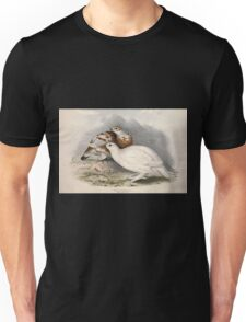 John Gould The Birds of Europe 1837 V1 V5 255 Willow Ptarmigan Unisex T-Shirt