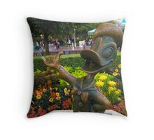 What a quack up Throw Pillow