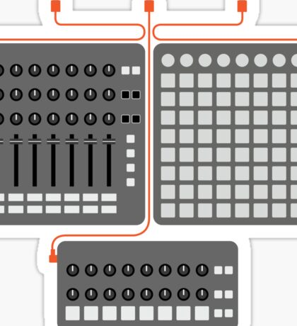 Launchpad Kit - Iconic Gear Sticker
