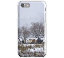 Snow Cattle iPhone Case/Skin
