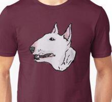 Bull Terrier (Subject 8) Unisex T-Shirt
