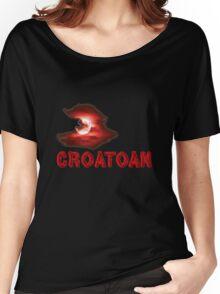 Croatoan Blood Moon Women's Relaxed Fit T-Shirt