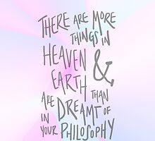 more things in heaven & earth by crispians