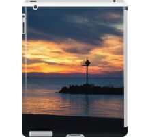Sunset at Lake Erie iPad Case/Skin