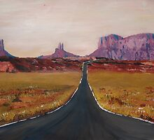 Monument Valley, Utah USA by artshop77