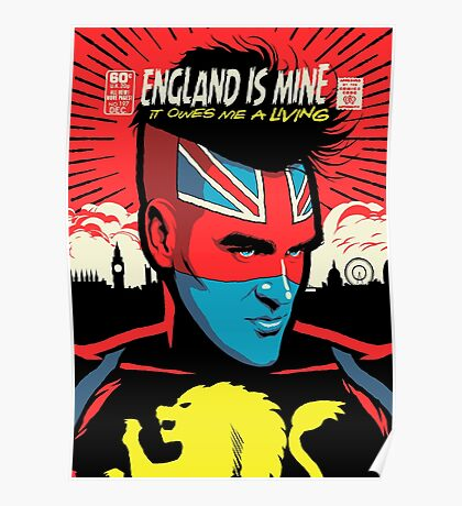 Post-Punk Comics | England Is Mine Poster