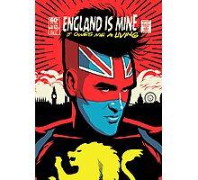 Post-Punk Comics | England Is Mine Photographic Print